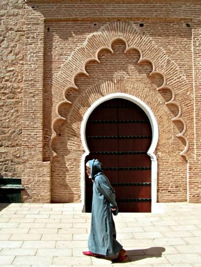 Facade Villa Au Maroc : Facade villes porte koutoubia marrakech jpg