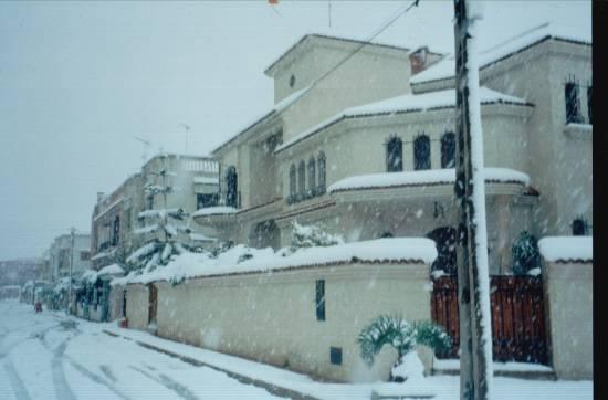 ���� ������ ���� ����� ������ rue-artere-neige-mer